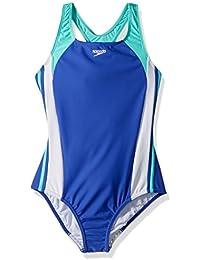 Girls' Infinity Splice One Piece Swimsuit
