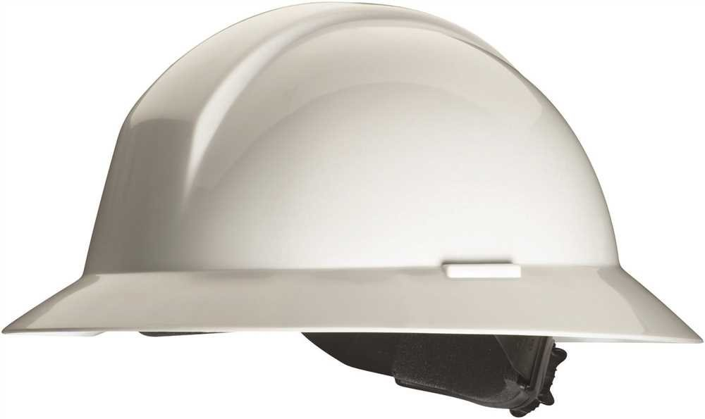 Honeywell a49r010000 a49r Everest Full borde casco de protección Duro, hebilla ajustable, color blanco: Amazon.es: Amazon.es