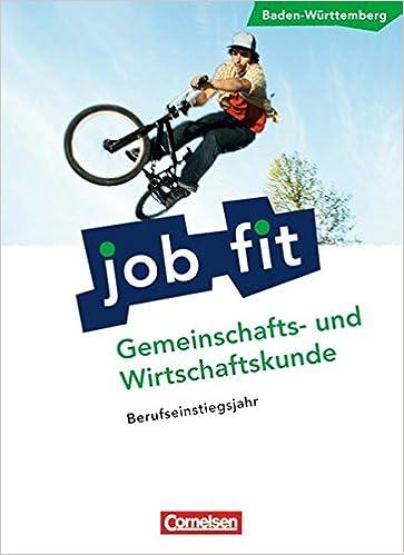 Job Fit Gemeinschafts Und Wirtschaftskunde Baden Württemberg