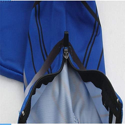 サイクリングシューズカバー 自転車用シューズカバー自転車用ライディングシューズカバー多機能シューズカバー高弾性ライクラ用ライディングシューズカバー 防水レインブーツシューズカバー (Color : Blue, Size : XL)
