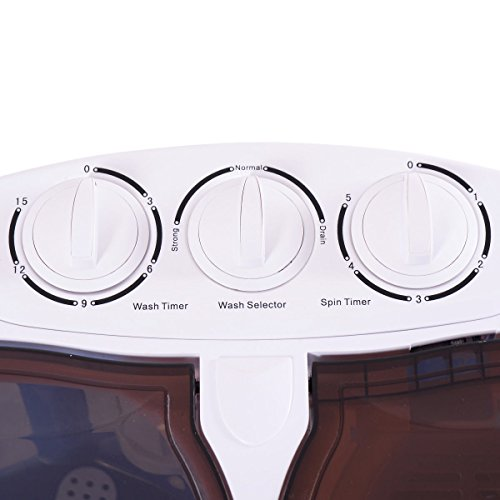 Giantex Portable Mini Washing Machine Gravity Drain