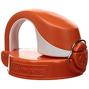 Nalgene OTF Bottle Lid (Orange/White)