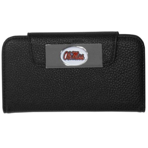 Siskiyou NCAA Mississippi Old Miss Rebels Samsung Galaxy S4 Wallet Case