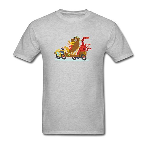 STROFA Men's Wacky Races Short Sleeve T Shirt