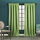 Duck River Textiles - Liam Solid Thermal Faux Silk Textured Blackout Room Darkening