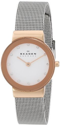 Skagen Women's 358SRSC Freja Stainless Steel Mesh Watch