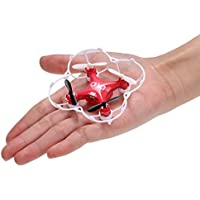 Cnlinkco Mini Drone 6-Axis CX-10 Gyro LED CF Mode 360°Eversion UFO RC Quadcopter (US STOCK)