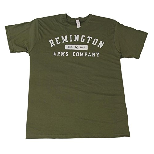 Remington Men's College Style Logo Short Sleeve T-shirt