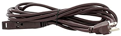 Holiday Lighting Outlet Extension Cord, Brown 3 Prong, Christmas Light, Holiday Cord, Indoor Outdoor
