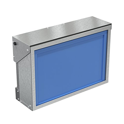 Environmental Enclosure - 17-19'' Universal Monitor and Thin Client Environmental Enclosure (stainless steel) PQS PN 80400-SS