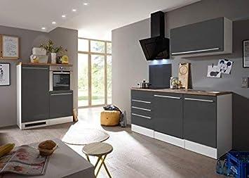 RESPEKTA Premium BLOCCO cucina angolo cottura cucina incasso bianco ...