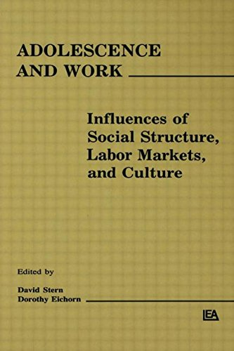 Adolescence and Work: Influences of Social Structure, Labor Markets, and Culture