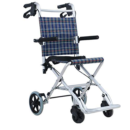 Aluminum Rollator Folding 4 Wheel Rollator Walker Shopping Trolley with Seat Lockable Brakes Carry Bag Shopping Cart for Eldly Limited Mobility Aid Shopping Basket 95 x 72 x 60cm