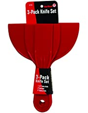 Red Devil 4718 3-Piece Plastic Knife Set, 1-Pack