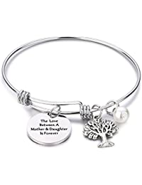 Family Tree Bracelet The Love Between Mother and Daughter Is Forever Tree of Life Bracelet Mother Gift Bangle, Christmas Gifts,Mother's Day Gifts