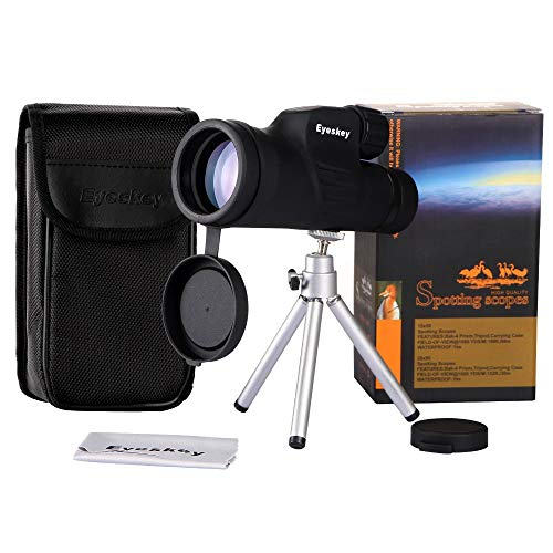 HUIGE Monocular high-Definition Microscopic Night Vision Mobile Phone Camera 10-30x50 Zoom Outdoor -