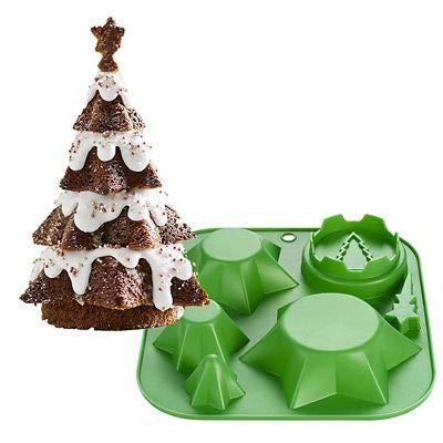 3d Christmas Tree.Christmas Tree Cake Mould Create Multi Layered 3d Christmas Tree Cakes
