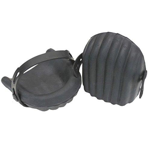 1 Paire de mousse de caoutchouc en forme de genouillè res protè ge-genoux BST
