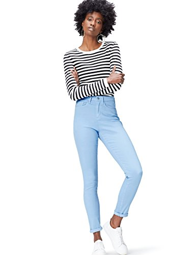 Donna Skinny Jeans Chambray Blu Super FIND q7Y1wpw