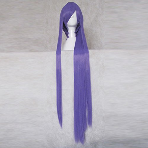 VOCALOID Kamui Gakupo Purple 100cm Long Cosplay Costume Party Hair Wig + 1 (Gakupo Kamui Cosplay Costume)