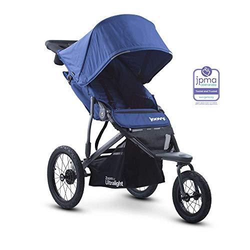 Joovy Zoom 360 Ultralight Jogging Stroller, Blueberry (Keep Jogging Stroller)