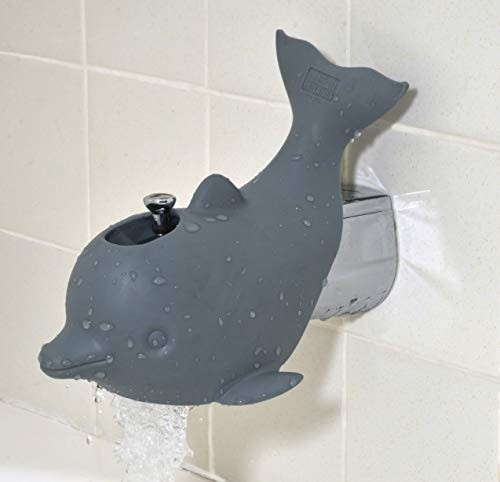Animal Planet Dolphin Bath Spout Cover, - Spout Bath Cover