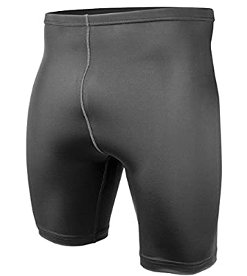 Men's Spandex Exercise Compression Workout Shorts