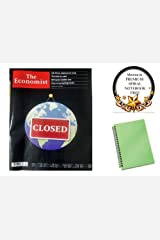 The Economist 21st - 27th March 2020 Special Issue Magazine With Ahooza Premium Pocket Spiral Notebook Paperback