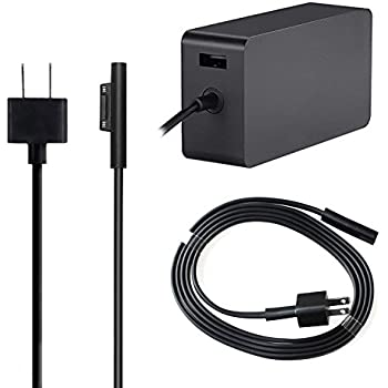 Amazon Com Surface Power Supply Adapter Ougic Cable