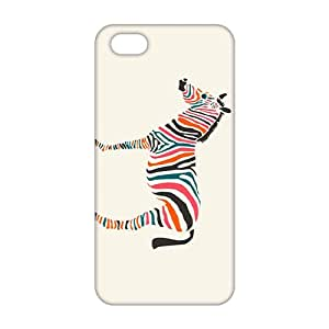 2015 Ultra Thin Colorful zebra 3D Phone Case for iPhone 5s by runtopwell