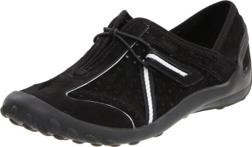 Clarks Women's Tequini Slip-On Black Nubuck