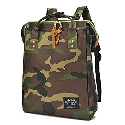Amazon.com: Women Men Canvas Backpacks School Bags for ...