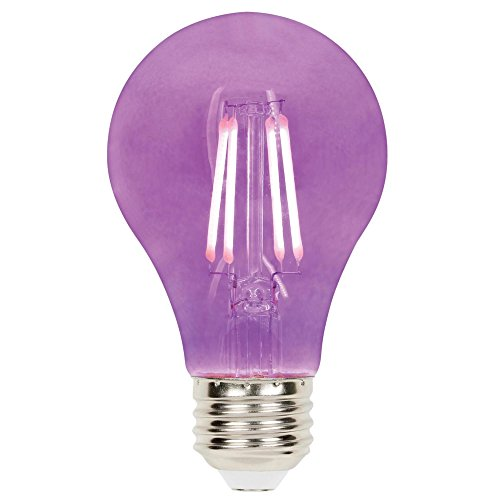 Westinghouse Lighting 5130000 Dimmable LED Light Bulb, Purple