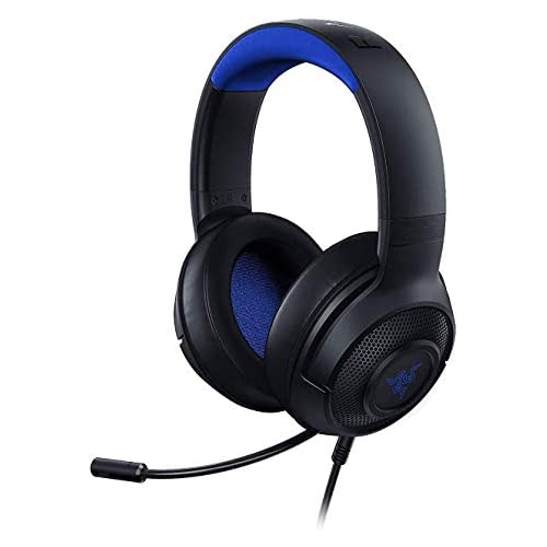chollos oferta descuentos barato Razer Kraken X para Consolas Auriculares Gaming Ultraligero para PC Mac PS4 Xbox One Switch con sonido Envolvente 7 1 Controles en los Auriculares Negro Azul