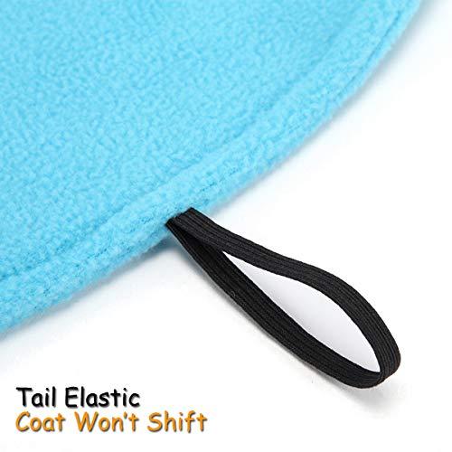 para Winter Dog de Perros Jacket mayoría Coat TFENG Azul Pet la los Colores 6 Fleece 3XL XS zHIBYqBU