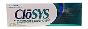CloSYS Fluoride Free Toothpaste, 3.4 Ounce