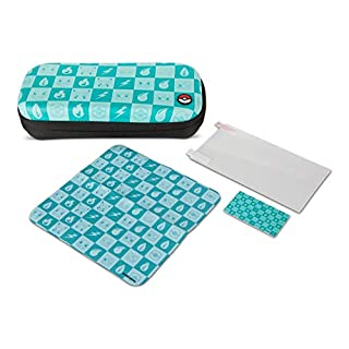 PowerA Protection Case Kit for Nintendo Switch Lite - Pokemon Checkerboard: Turquoise