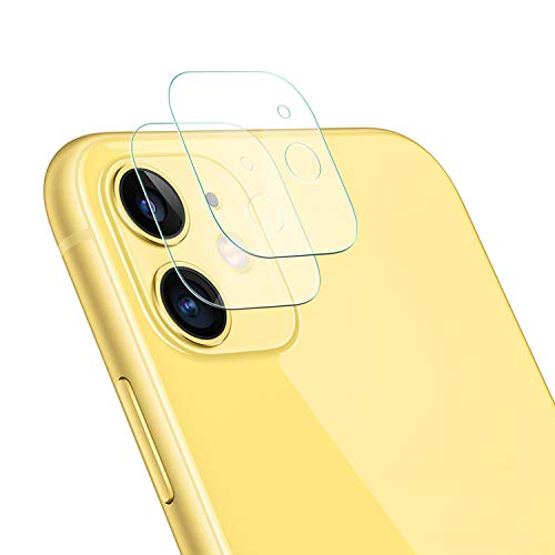 [2 Pack] OEAGO iPhone 11(6.1inch) Screen Protector Camera Lens Tempered Glass Ultra Thin Transparent Clear Camera Lens Protector for iPhone 11