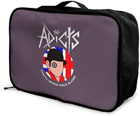 アレンジケース アディクツ 旅行用トロリーバッグ 旅行用サブバッグ 軽量 ポータブル荷物バッグ 衣類収納ケース キャリーオンバッグ 旅行圧縮バッグ キャリーケース 固定 出張パッキング 大容量 トラベルバッグ ボストンバッグ