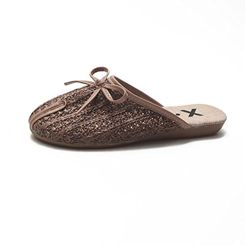 37 Creux New Sandales GUANG Femme 40 Style Plates XING Brown Chaussures Summer Plates Brown STx6Pnz