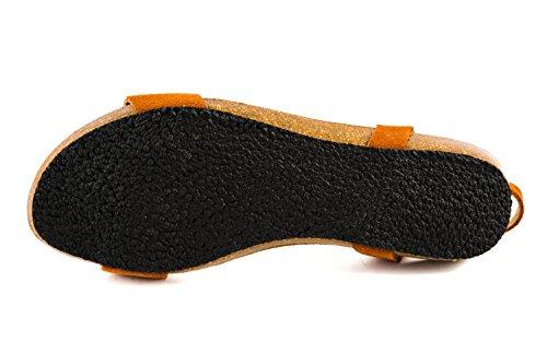 201 Sandales Femme Pl1 Orange Pour Plakton 7wqPvzn4v