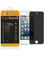 for iPod Touch 7 / iPod Touch 6 / iPod Touch 5 Tempered Glass Screen Protector [Privacy Anti-Spy], SuperGuardZ, 9H Anti-Scratch, Anti-Bubble [Lifetime Replacements]