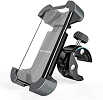 SUPERONE Bike Phone Mount, [Designed for OtterBox & Thick Case] Super Stable Bicycle Motorcycle Cell Phone Holder...