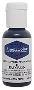 Americolor Soft Gel Paste Food Color, .75-Ounce, Leaf Green