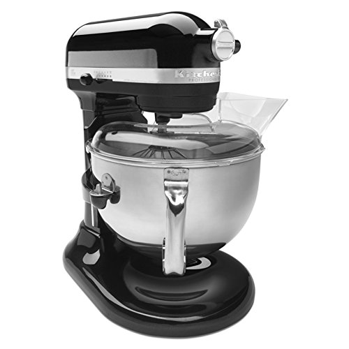 nal 600 Series KP26M1XER Bowl-Lift Stand Mixer, 6 Quart, Caviar Gloss (Professional Processor)
