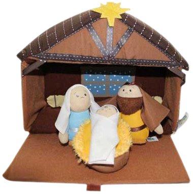 Talicor Plush Nativity 4 Piece Play