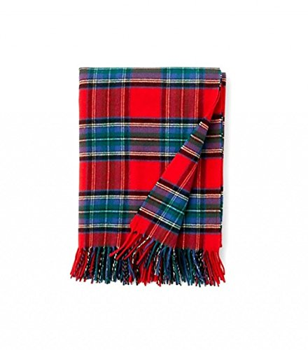 Pendleton 5th Avenue Throw, Red Stewart by Pendleton