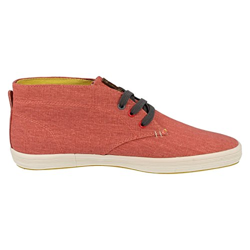 Base London Men's Rod Trainers Coral wPPU4