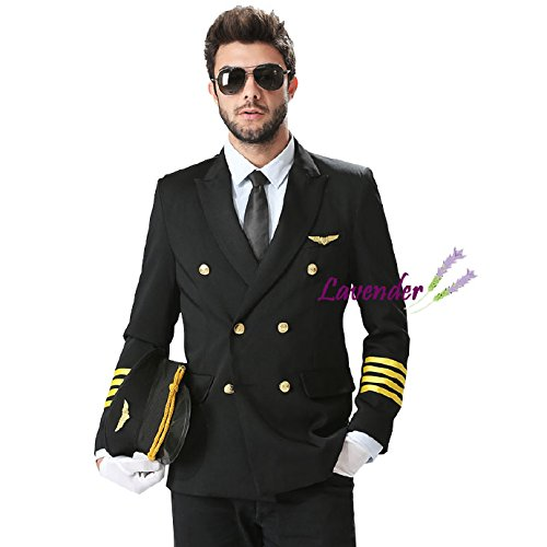 機長 飛行機制服 cosplay コスプレ衣装 イベント 仮装 ハロウイン クリスマス 文化祭 オーダーメイド可能