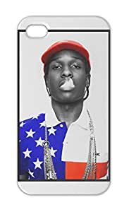 ASAP Rocky American Flag Shirt Swag Iphone 5-5s plastic case